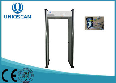 High Sensitivity Door Metal Detector , Walk Through Security Metal Detectors For Park